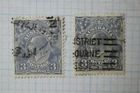 Australia sc#72 72a 3p pence used cv$28