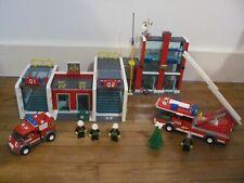 LEGO 7208 @@ Fire Station - Pompiers @@ 100% COMPLET - État Neuf