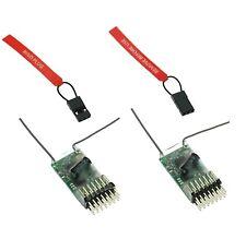 2X RX DSM2 6-Kanäle Full Range Empfänger für Spektrum Sendern  DSM2  G-143 m2