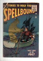 Spellbound #30 Atlas/Marvel 1956! VG/F 5.0 CLASSIC EVERETT COVER & Reinman Art!