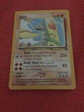 Pokemon Onix 3/18 Nice Condition !