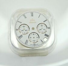 No Reserve EBEL Discovery 1911 Chronograph White Dial Men's Automatic Watch 44mm
