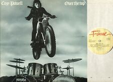 COZY POWELL over the top FA 3056 uk emi fame reissue 1982 LP PS EX/EX