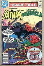 Brave And The Bold #138-1977 fn Batman Mister Miracle Jim Aparo