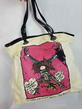 BETSEYVILLE Betsey Johnson Cartwheel Shopper Tote Bag Purse Limited Edition