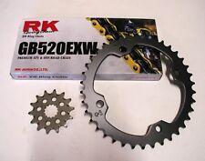 RK Gold Chain and JT Sprocket Kit Yamaha YFZ 450 2004-2013