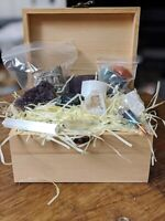 Baby Witch Box - 7 Chakra Stones Reiki - Assorted Crystals Witchcraft Kit