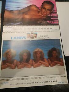 Lambs navy rum Calendars 1979,1980,1981,1982,1983 and 1984.