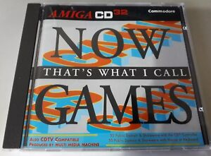 Now That's What I Call Games - Amiga CD32 and CDTV compilation
