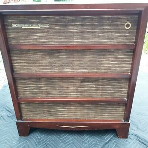 """RCA Victor SHF-5 - Orthophonic Tube Console Record player"""" conversion"""""""