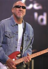 THE WHO PETE TOWNSHEND PHOTO EXCLUSIVE 2005 HUGE 12 INCH UNRELEASED UNIQUE IMAGE