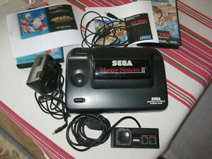 Sega Master System 2 (II) Console (UK PAL). Complete with Leads +2 Games