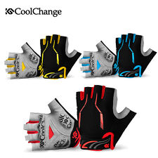 CoolChange 4 Color Cycling Bike Bicycle Half Finger Fingerless Breathable Gloves