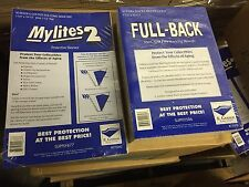 50 E. Gerber Silver/Gold Comic Book Mylites 2 Bags (775M2) & Full Backs (750FB)