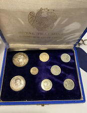 ROYAL THAI MINT COMMEMORATIVE COINS-8 Coins 3 Are Silver