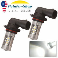 2x Super Bright White LED 9006 HB4 High Power 80W Fog Light Driving Bulbs DRL