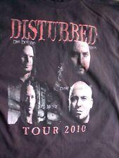 Disturbed t shirt Rockstar Tour 2010 special guests, Stone Sour Avenged Sevenfol