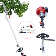 42.7cc 2Stroke Gas Pole Saw Pruner Chainsaw 12'' Blade Outdoor Tree Trimmer Tool