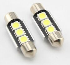 2  BOMBILLAS  LED CAN BUS  DE 36MM , MATRICULA, FESTOOM, C5W, PLAFONIER.
