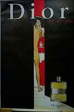 Christian Dior Publicity Ad Poster for Male Cologne