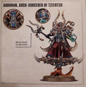 Ahriman Erzhexer der Tousand Sons / Warhammer 40k Chaos Space Marines 40.000