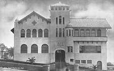 Redondo Beach California City Hall Antique Postcard J57840