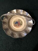 Farber & Shlevin Inc. Brooklyn NY Hammered Aluminum Handled Carrier with Bowl 52