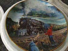 The Sunshine Special Limited Collectors Plate Great American Trains Collection