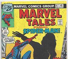 The Amazing Spider-Man #86 Reprint in Marvel Tales #67 from May 1976 in VG- con.