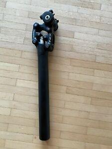 Suntour Federsattelstütze Parallelogramm Sattelstütze 31,6 mm SP12 NCX gefedert