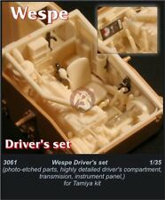 CMK 1/35 Sd.Kfz.124 Wespe Driver's Set (for Tamiya kit) 3061