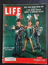 Life Magazine December 19 1955    Suits of Armor