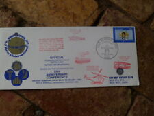 GOSFORD ROTARY 75TH ANNIV CONFERENCE SOUVENIR COVER CARRIED HELICOPTER