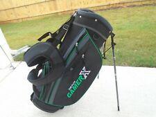 New Top Flite Gamer Golf Club stand Bag - Black - green