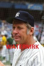 """1970's MICKEY MANTLE  New York Yankees AL HOF  """" OLD TIMERS DAY  """" 8x10 PHOTO"""