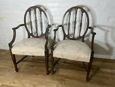 Antique Pair Of French Style Armchairs. Delivery Available Most Uk Areas