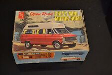 Vintage AMT Original Chevy Chevrolet Open Road Mini Motor Home Van Model Kit