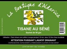 NEW REGIME RAPIDE 6 Cm/10 J TISANE LAXATIF Séné 50 gr