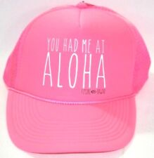Hawaii Rip Curl Trucker Snapback Hat Cap Otto Collection Pink You Had Me At Helo