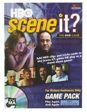 HBO SCENE IT? DVD Game Expansion Pack Sopranos Sex City Curb Your Enthusiasm NEW