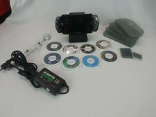 Sony PSP 1001 Handheld. Tested & Working w/ 8 games , charger and accessories