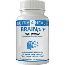 BRAINplus NIGHT Brain IQ Plus Capsules | Night Sleep Nootropics Booster Pills...