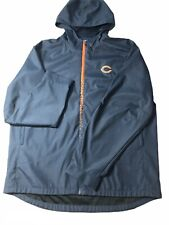 NWOT Vintage Reebok On Field NFL Chicago Bears Jacket Mens Size XL Full Zip Up