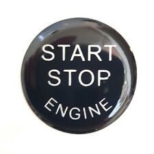 BMW Mercedes Audi Ford etc Engine start/stop button sticker 2.4 cm diameter