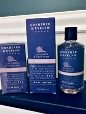 Crabtree Evelyn - LAVENDER & ESPRESSO CALMING Set Wash Lotion  Eau deToilette