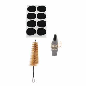 1 Réglage des raccords saxophone de tampons de brosse à poils à poils à poils