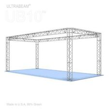 Trade Show Booth, 10' X 20' X 8' Made of Aluminum Triangle Trusses