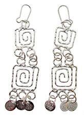 Handmade Jewellery Greek Meander Artisan style earrings MDR4