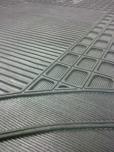 Mercedes Sprinter Van 2018 on. Tailored Rubber Floor Mat.
