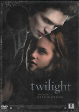 DVD TWILIGHT CHAPITRE 1 - FASCINATION / PATTINSON STEWART / NEUF SCELLE